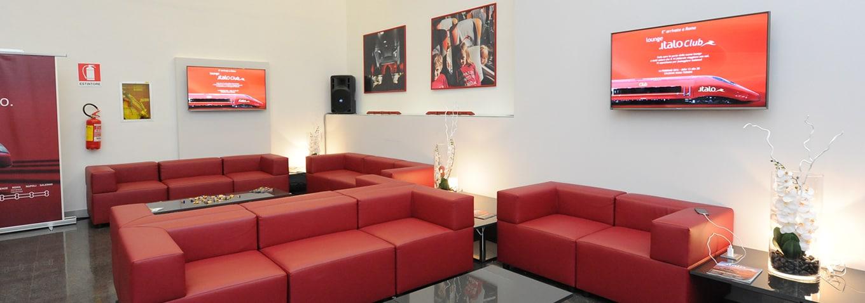 Lounge italo club l 39 attesa in stazione diventa un piacere for Club esclusivi milano